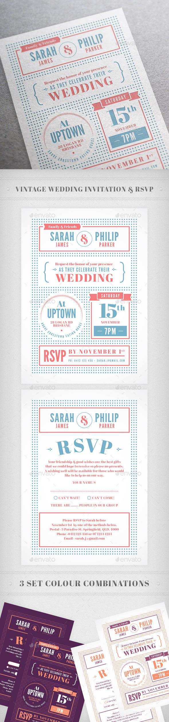 Indie Wedding Invitation - Weddings Cards & Invites