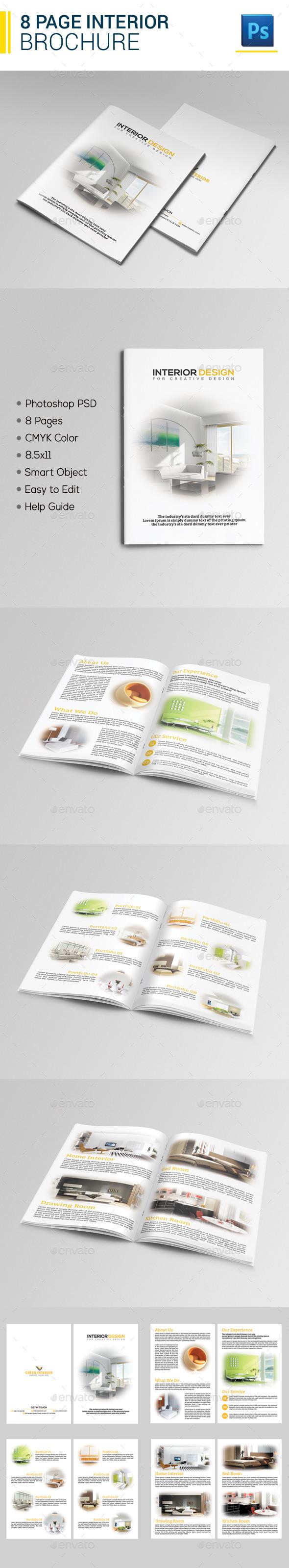 8 Page Interior Brochure - Catalogs Brochures