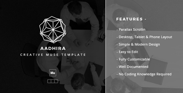 Aadhira – Creative Muse Template