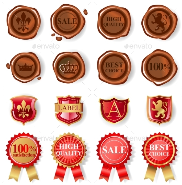 Wax Seal Collection  - Retail Commercial / Shopping
