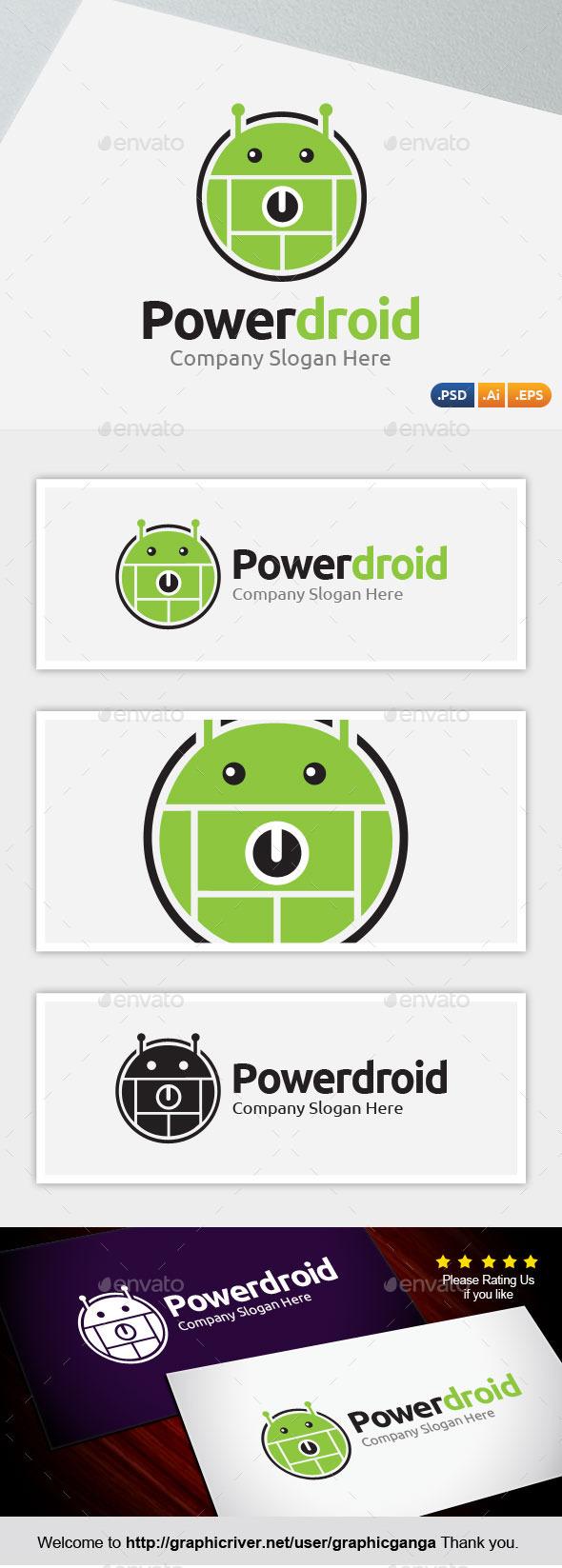Powerdroid - Symbols Logo Templates