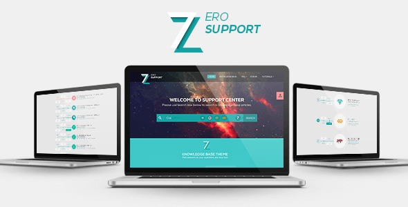 7ZERO | Support PSD Template
