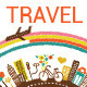 Travel Ad Banner - GraphicRiver Item for Sale