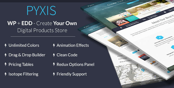 Pyxis – A Creative Digital Products Shop & Blog