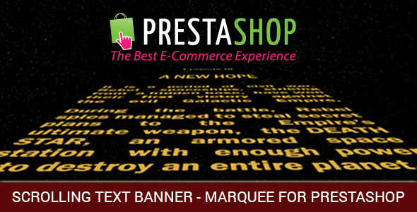 Marquee, Banners with Scrolling Text or/and Images and Video for Prestashop - CodeCanyon Item for Sale