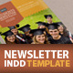 Two Student Newsletter - GraphicRiver Item for Sale