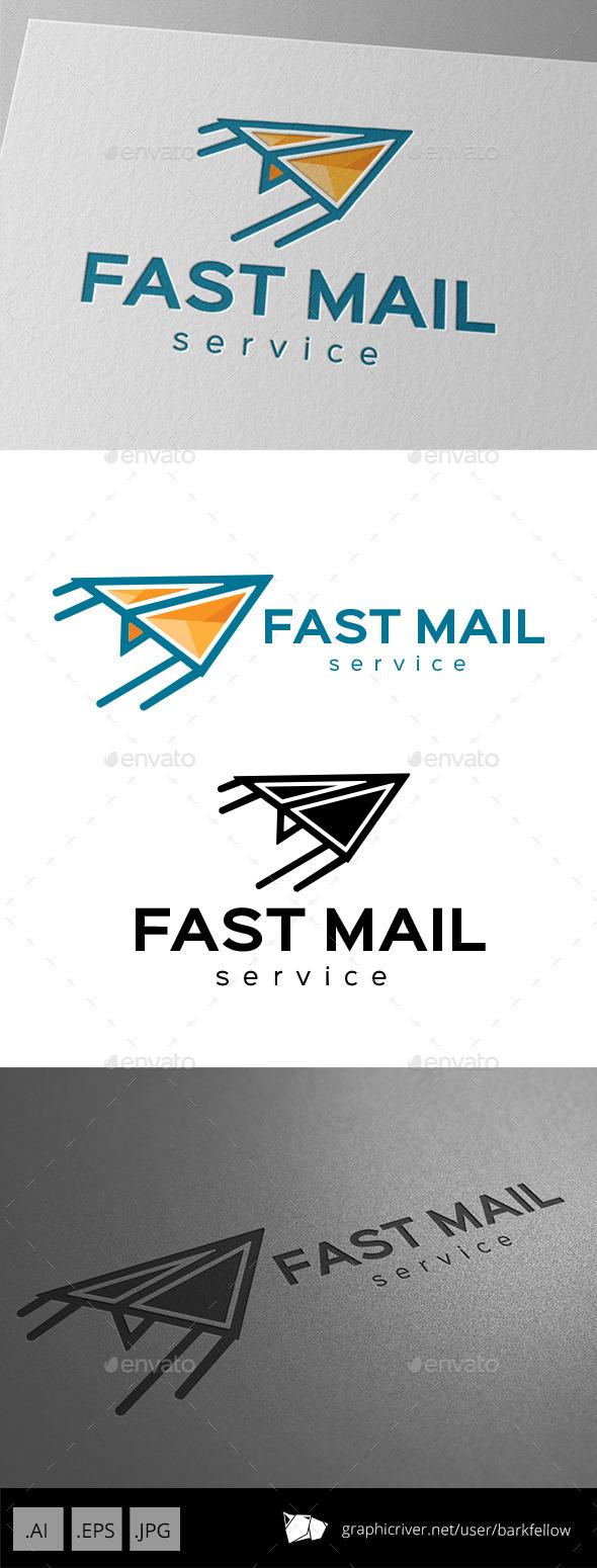 Fast Mail Services Logo - Symbols Logo Templates