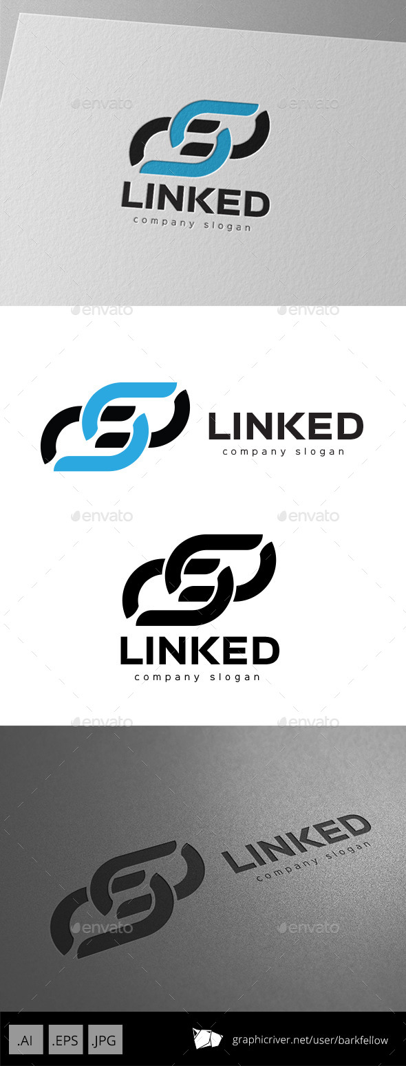 Link and Connect Logo - Symbols Logo Templates