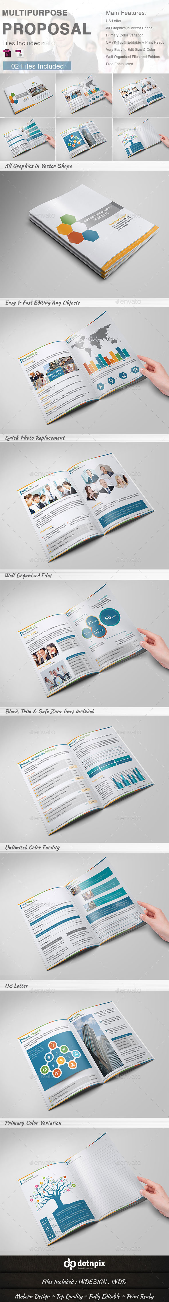 Multipurpose Business Proposal - Proposals & Invoices Stationery
