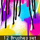 Spray Brused Set - GraphicRiver Item for Sale