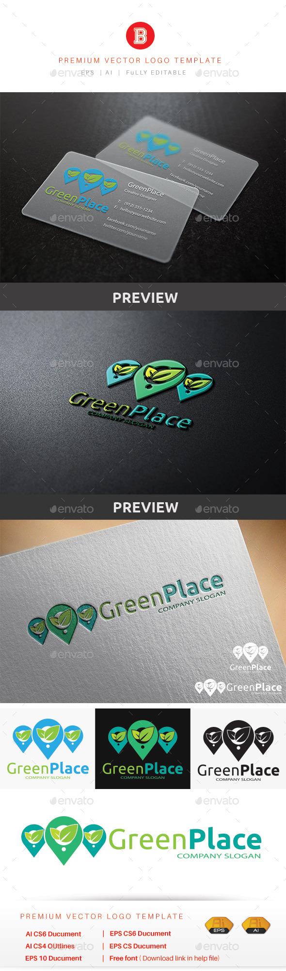 Green Place - Nature Logo Templates