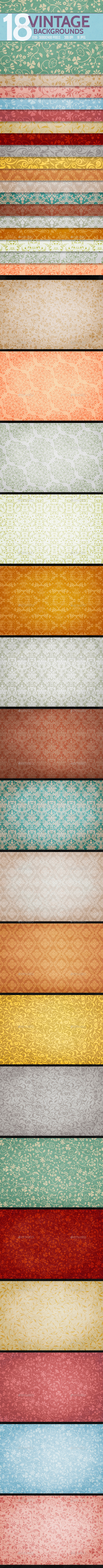Vintage Backgrounds - Backgrounds Graphics