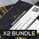 Bundle - Black & White Business Cards