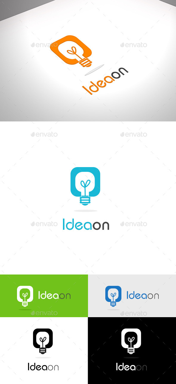Ideaon Business Logo - Vector Abstract