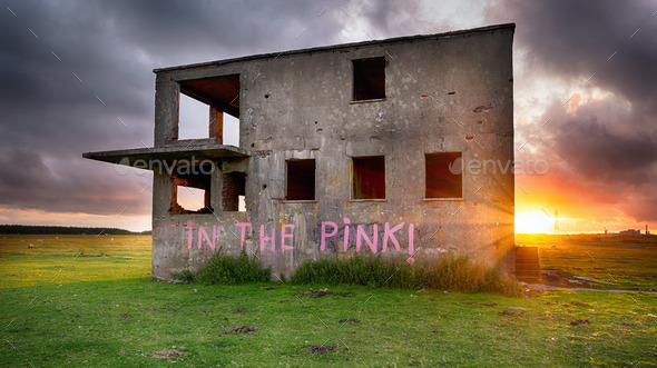 Abandoned Building - Stock Photo - Images