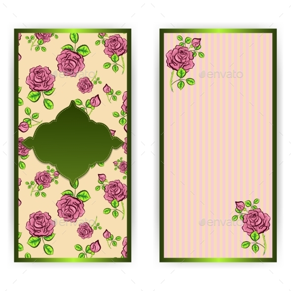 Floral Banners - Patterns Decorative