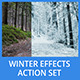 Winter Effects Action Set - GraphicRiver Item for Sale