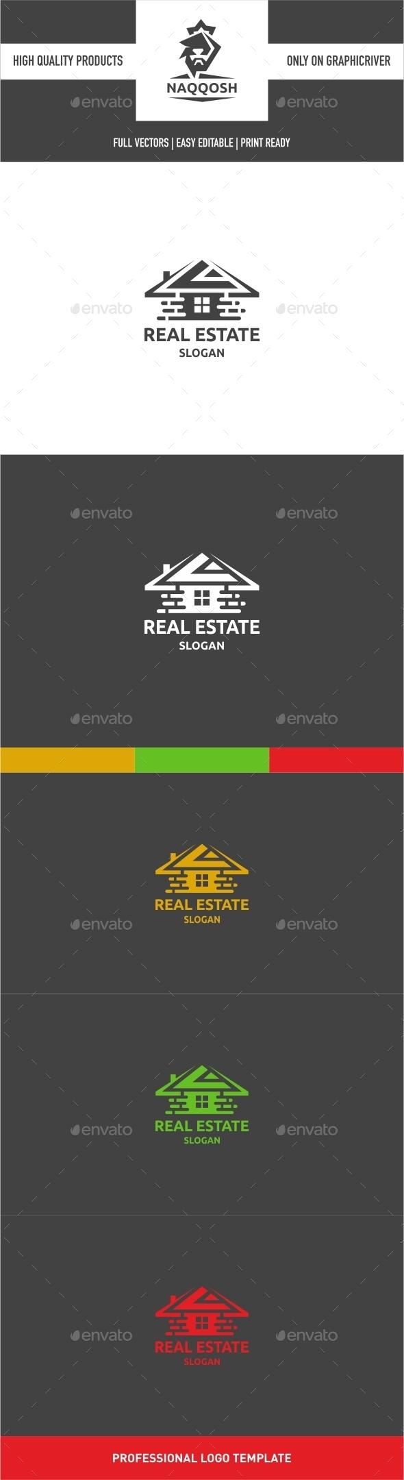 Real Estate Logo - Symbols Logo Templates