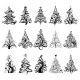 Set of Luxury Christmas Trees.  - GraphicRiver Item for Sale
