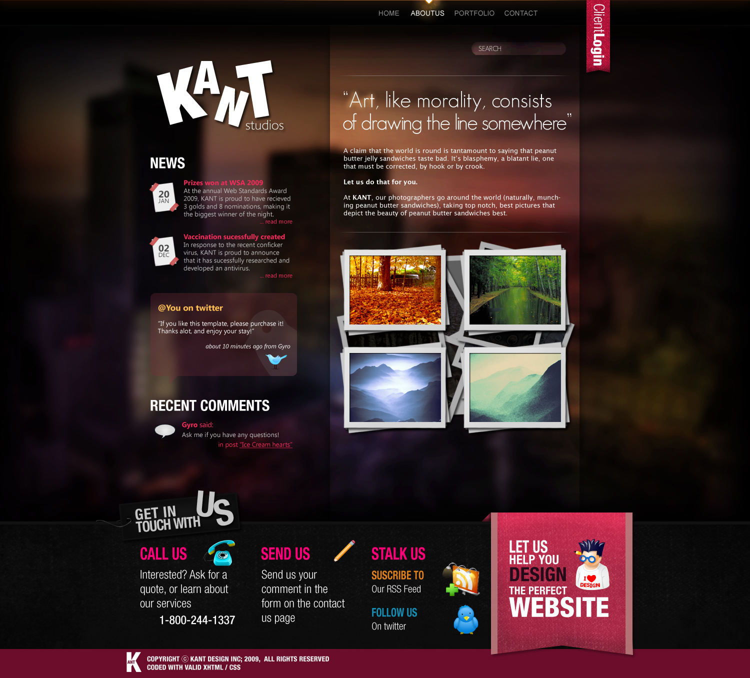 Free Download Impact - a PSD Theme Nulled Latest Version