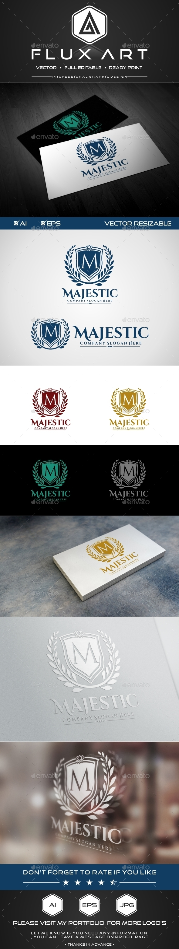 Majestic Luxury Logo - Symbols Logo Templates