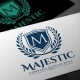Majestic Luxury Logo - GraphicRiver Item for Sale