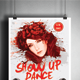 Show Up Dance Flyer - GraphicRiver Item for Sale