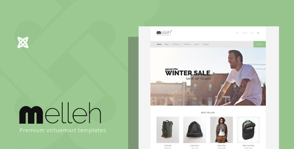 Melleh – Clean Virtuemart Template