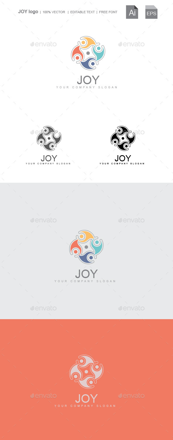 Joy - Symbols Logo Templates