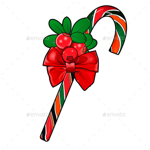 Christmas Cane - Seasons/Holidays Conceptual