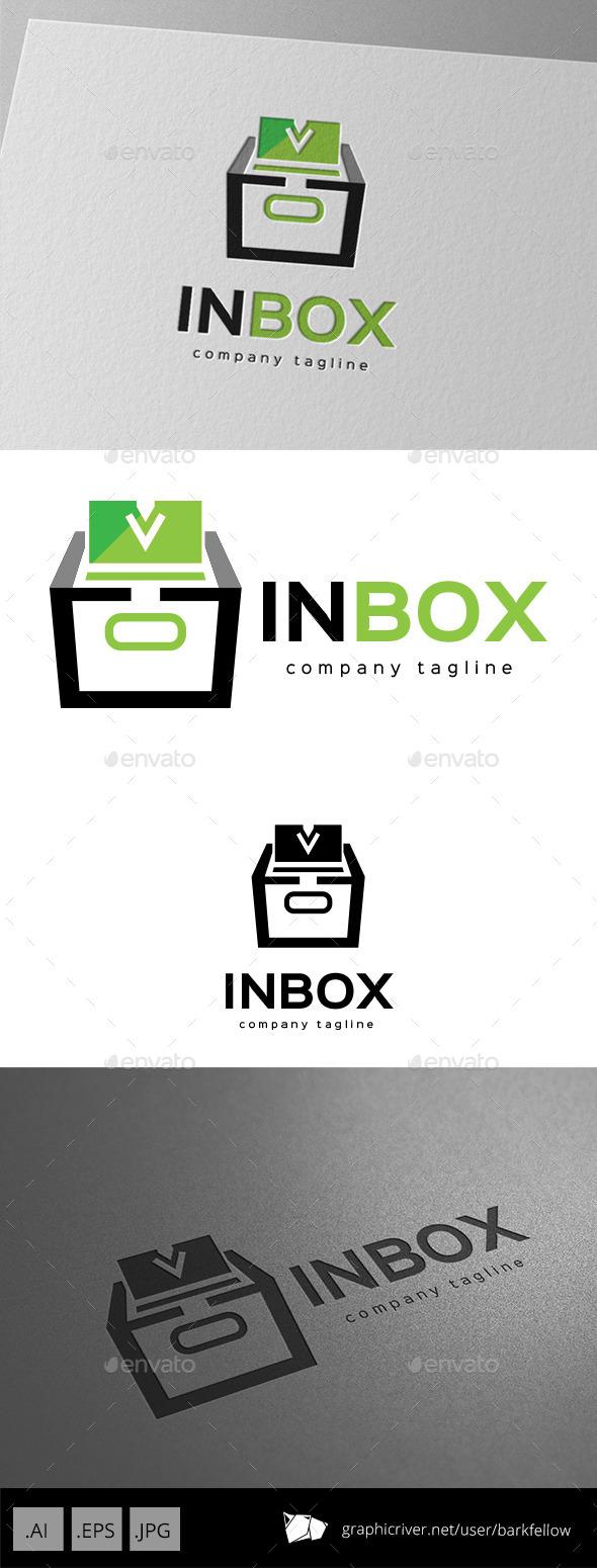 In Box Logo Design - Objects Logo Templates