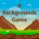 6 Backgrounds Game Nature - GraphicRiver Item for Sale