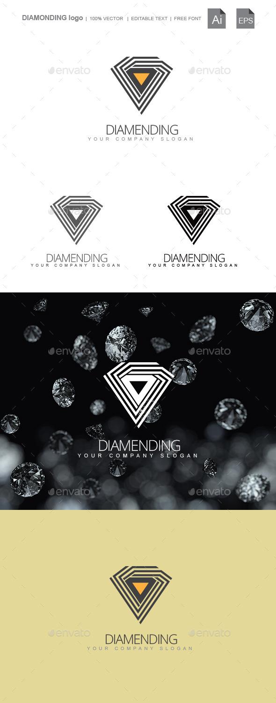 Diamonding - Symbols Logo Templates
