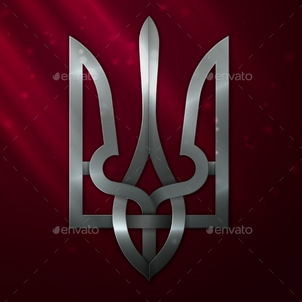 Ukraine Coat of Arms - Valentines Seasons/Holidays