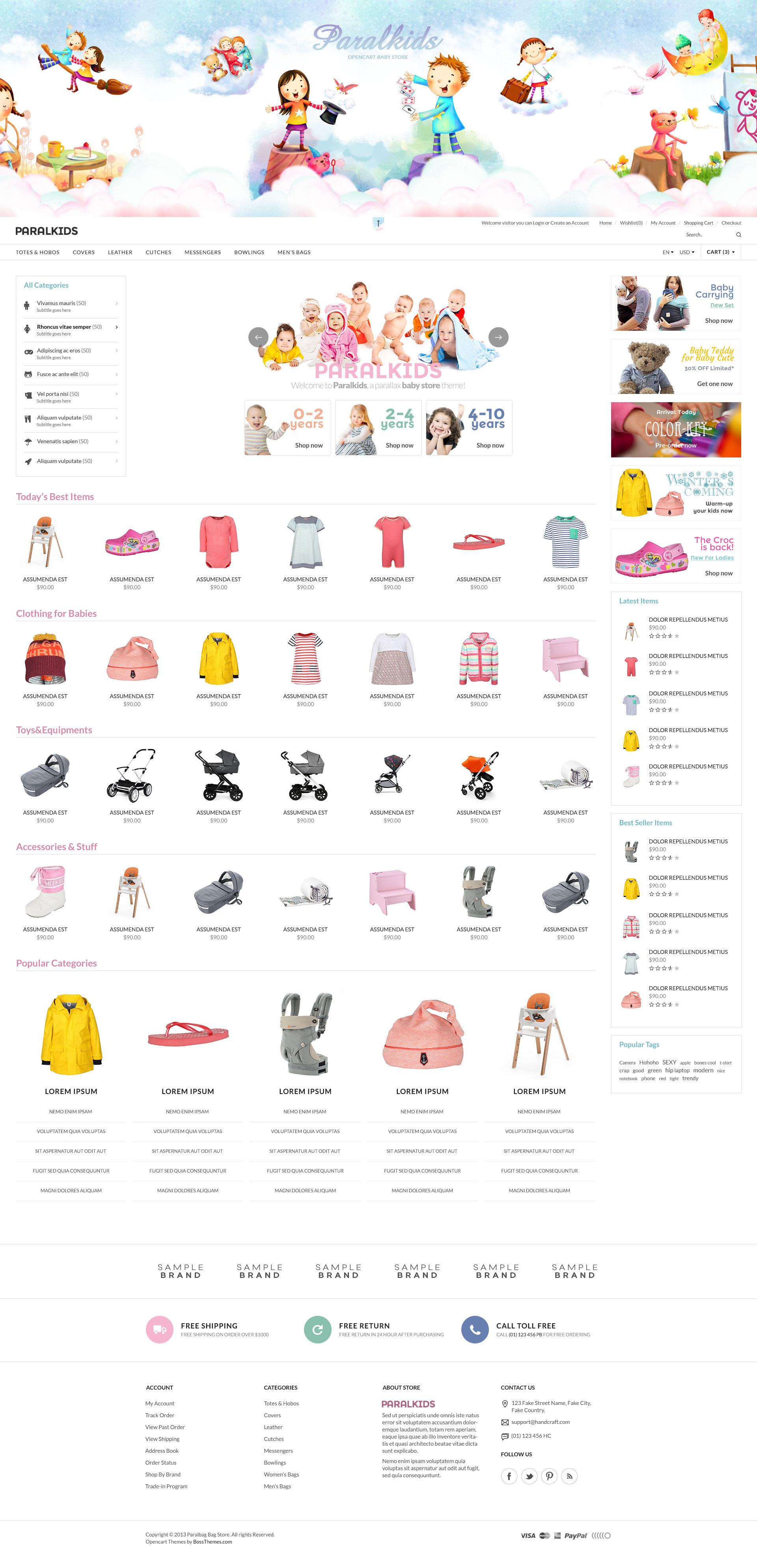 2b1bc8b3d63a Opencart Fashion Bag Store - Parallax by tvlgiao