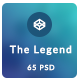 The Legend - Multi-Purpose PSD Template Nulled