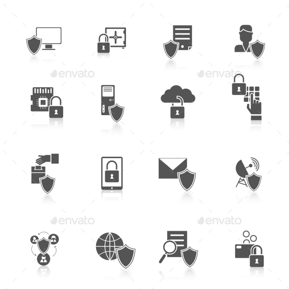 Information Security Icon - Web Icons