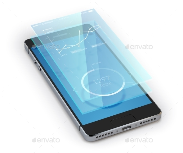 Smartphone Ui Realistic - Communications Technology
