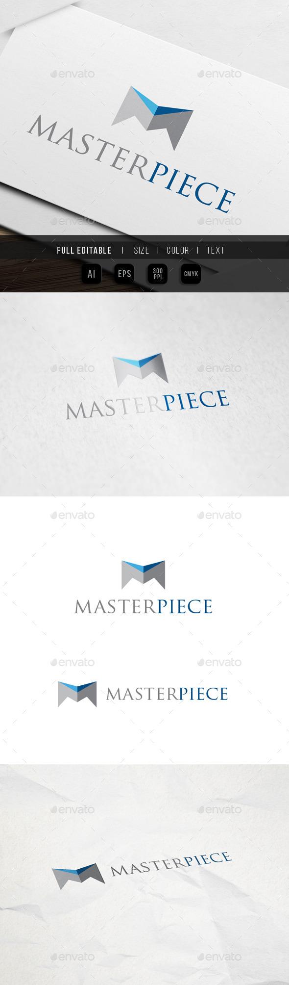 Master – Letter M Logo - Letters Logo Templates