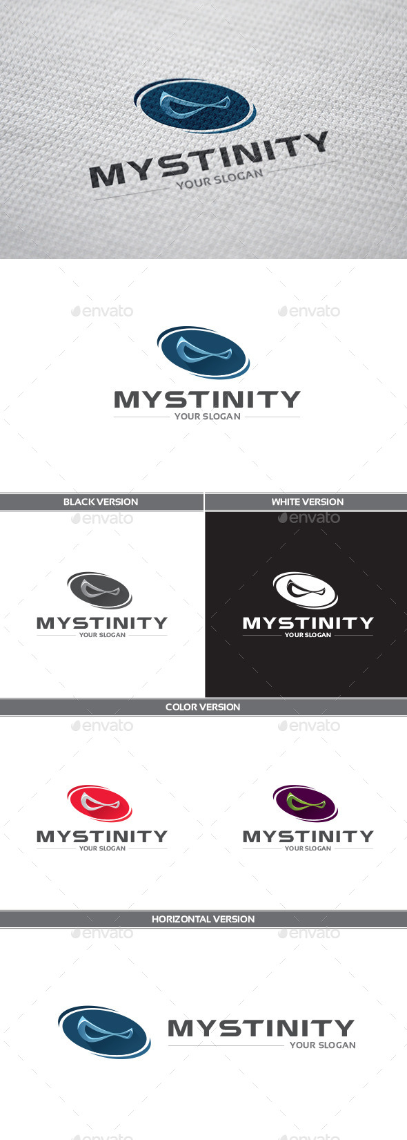 Mystinity Logo - Objects Logo Templates