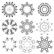 Set of Round Ornaments - GraphicRiver Item for Sale