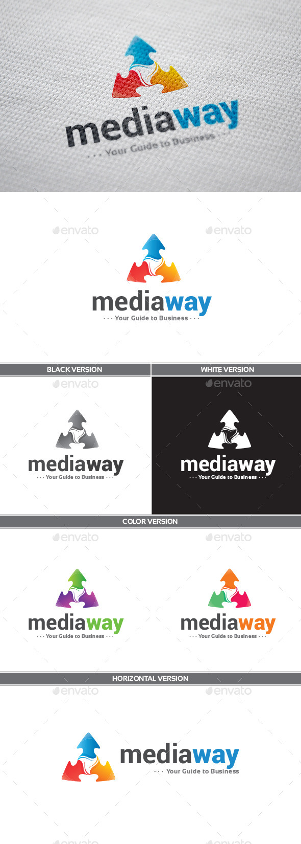 MediaWay Logo - Symbols Logo Templates