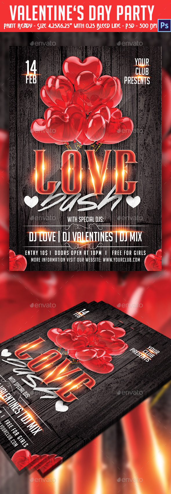 Love Bash Party - Holidays Events
