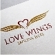 Love Wings Logo Template - GraphicRiver Item for Sale