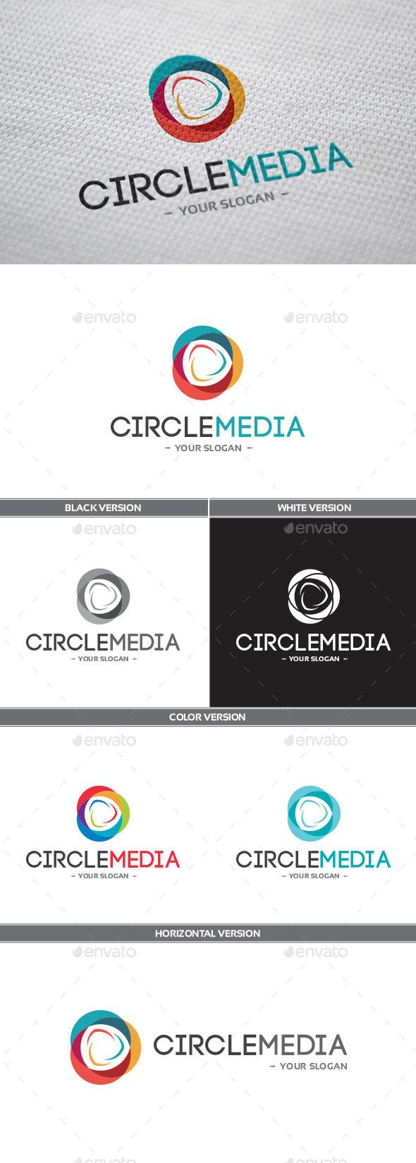 CircleMedia Logo - Symbols Logo Templates