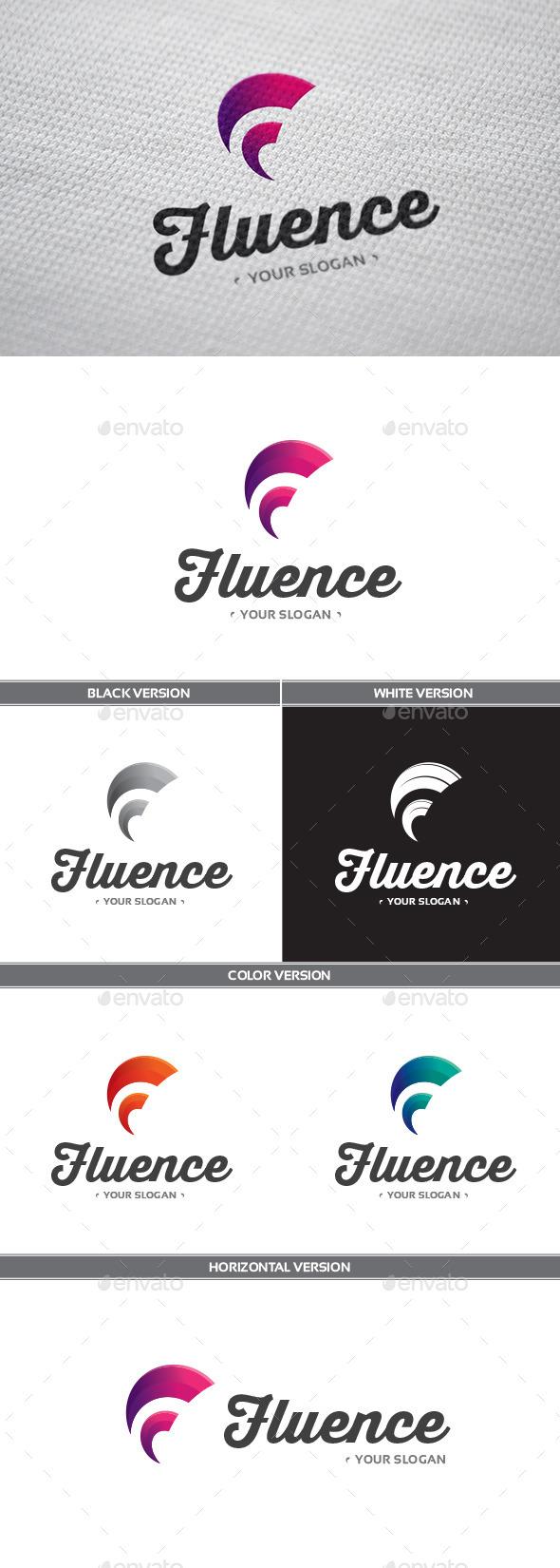 Fluence Logo - Letters Logo Templates
