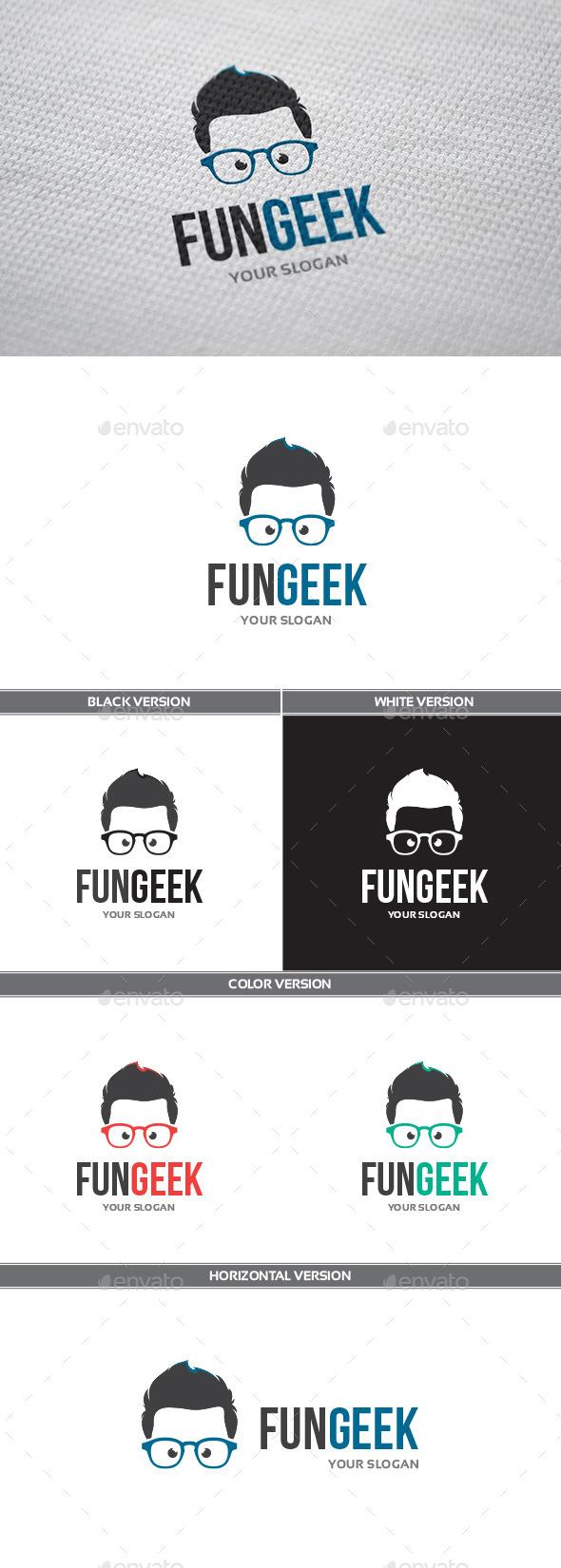 FunGeek Logo - Humans Logo Templates