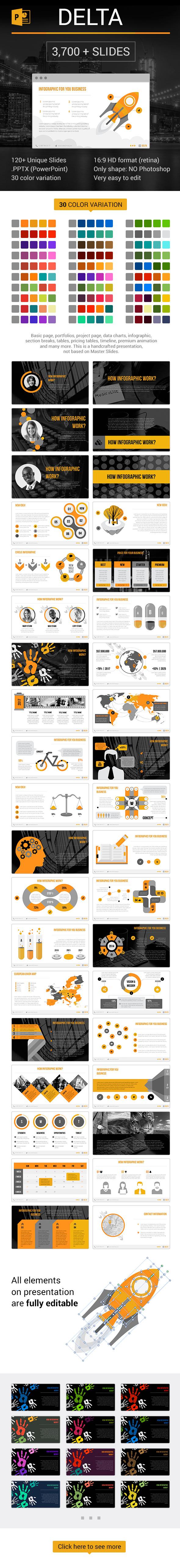 Delta PowerPoint - Business PowerPoint Templates