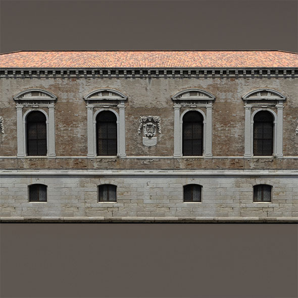 Venice Building #148 Low Poly - 3DOcean Item for Sale