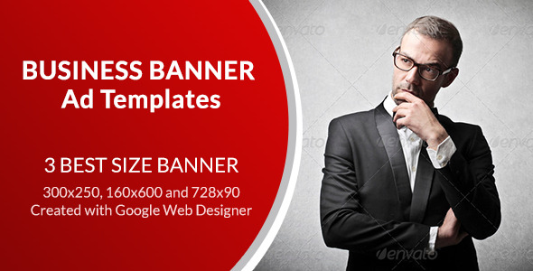 Business Banner Ad Templates - CodeCanyon Item for Sale